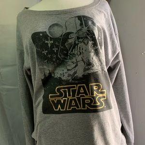 Sweaters - Star Wars sweater wide neck size 2X